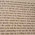 Baldwin on trying to explain being black to (even well-meaning) white people. (LePage doesnt count.) https://t.co/1UdBmwz6Oj