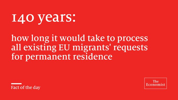 The Economist @TheEconomist: Curbing migration to Britain will be both tricky and costly #FactoftheDay https://t.co/IXMJwcj5rs https://t.co/xtIyV4RIbR