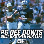 Saddened to hear the passing of Legend Dee Dowis. We want to offer our condolences to his family. RIP #BoltBrother. https://t.co/VRRlm8HuS7