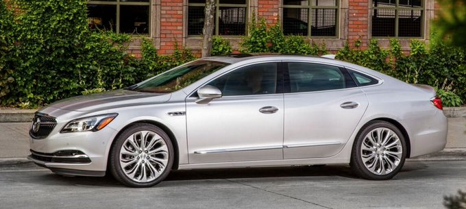 Consumer Guide Auto @CGAutomotive: 2017 @Buick LaCrosse https://t.co/TFjgIQrial Now with more character... #FirstSpin https://t.co/iueM8f62mA