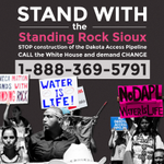 Are there some bars at the top of your phone device? Then you can join the Standing Rock Sioux to stop a pipeline https://t.co/6MWOamKAup