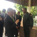 #CancillerMiguelVargas llega a Haití, recibido por autoridades de ese país. #CancillerRDenHaití https://t.co/gvXG20hrUO