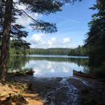 #Canoe trip @Algonquin_PP last week, very special place. #Canada #TTOT #SummerBucketList. #Thunderstorm watch today. https://t.co/4r59X2I3UV