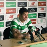 New Bhoy @Cris_GamboaCR is speaking to the press. (MN) https://t.co/uCwP2XJglz