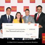 A big #shoutout @WellsFargo for their support of @LADreamCenter  #homelessness  https://t.co/ZSDYNZja00 https://t.co/HNdnL4P33W