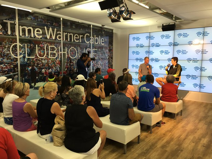 Pat Kiernan @PatKiernan: Now at @TWC @Charter Clubhouse at @usopen: @Taylor_Fritz97 talking about next generation of tennis. #PatAtTheOpen https://t.co/pdLa4NRyJJ