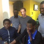 Facebook founder Mark Zuckerberg is in Nigeria and currently visiting tech entrepreneurs https://t.co/PAWx7hVDgW https://t.co/q6V2uIdPMM
