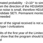 Soon more from my friend & colleague Claudio Maccone, SETI scientist analyzing signal. His preliminary conclusions: https://t.co/LwFkUGH68w