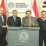 Empresarios ratificaron su confianza hacia el presidente Cartes, quien les prometió resultados en el combate al EPP. https://t.co/7uhKfcRZ34