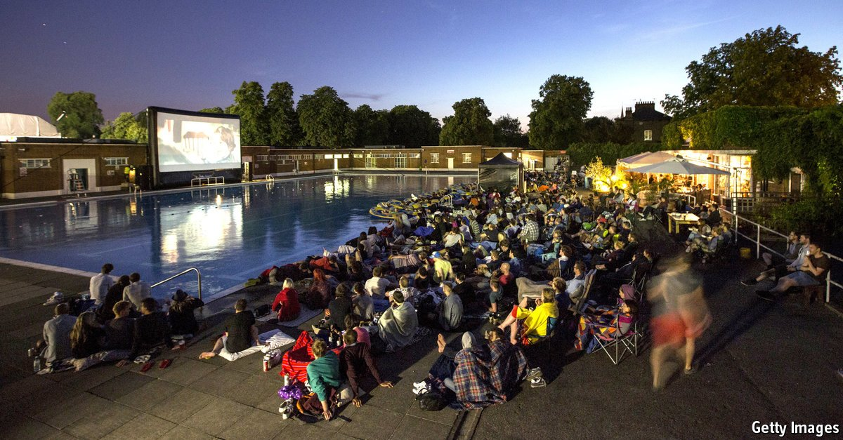 The Economist @TheEconomist: The unlikely rise of the British outdoor cinema https://t.co/CupsyCbqjx https://t.co/mceNKJtzWe