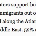 31% of Trump supporters want an ocean wall to keep Muslims out. This is real. 31%! My face is sick of being palmed. https://t.co/ZEdSKOxank