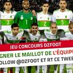 On vous fait gagner le maillot blanc de lEN 🇩🇿, il suffit de nous follow et de RT ce tweet pour participer ! 👍 https://t.co/Sne4nsuXB3