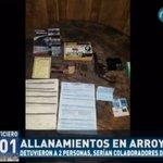 Detuvieron a dos supuestos colaboradores del EPP en Arroyito. #RPC #ElNoticiero https://t.co/boAdhNvBoQ