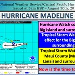 Major Hurricane Madeline continues to move west towards the Islands. Now is the time to be prepared! https://t.co/fXzeNYE5r2