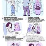 Réagir qd on est témoin de harcèlement islamophobe? Voilà un guide qui je lespère vous aidera! RT please ✊🏽 https://t.co/mb4vOkMPxe