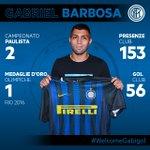 .@gabigol è dell#Inter! Con noi fino al 2021! https://t.co/vVXocVtNGx ⚫️🔵🇧🇷 #WelcomeGabigol #FCIM https://t.co/6ttCo4fa29