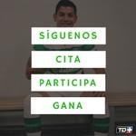 Cita el tweet y participa por la nueva camisa de Cristian Gamboa con el Celtic. https://t.co/Ap8tP6Pdix