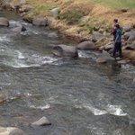 Personas aprovechan bajo caudal del río Tomebamba, en #Cuenca, para pescar #MercurioEc @mercurioec https://t.co/3m6uWI2BHW