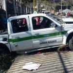 En el accidente resultaron heridos 2 adultos y 2 menores.Fueron trasladados al hospital de Gualaceo @eltiempocuenca https://t.co/0HaflHJqbS