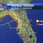 Hurricane watch issued for areas N. of Tampa to Apalachicola. Tropical storm watch from Panama City to Pasco CO https://t.co/TswkHL3FmZ