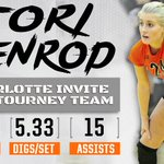 #MUVB's @ToriPenrod was named to the Charlotte Invite All-Tournament Team this past weekend! 💥💥 https://t.co/GXmahVxRo8