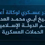 BREAKING: #ISIS Amaq reported that ISIS spokesman Abu Muhammad al-Adnani was killed in #Aleppo https://t.co/br7YslGPPL