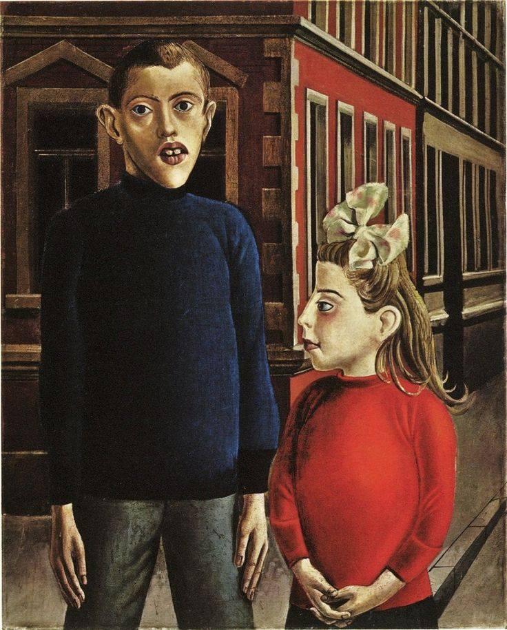 1921 Otto Dix :: Two Children https://t.co/5zATf1ULLM