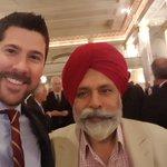 @darshankang and I are ready to hear from @jimcarr_wpg & @cathmckenna #cdnpoli @CalgaryChamber https://t.co/e9rnVk1NA4