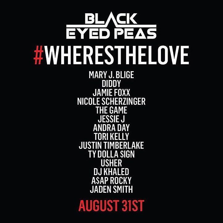 Tomorrow! @bep #WHERESTHELOVE [?] #payATTN! Proud to be part of something so important. https://t.co/ZwJQw5t9wH https://t.co/QCT650mS6r