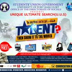 hello,  have you heard of #UniqueUltimateSearch its a talent  hunt event happening tomorrow at Uniport. https://t.co/EAOamVR8Od