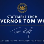 Governor Wolf's statement on Bruce Beemers confirmation as Pennsylvania attorney general: https://t.co/GxiHMOfLK9 https://t.co/S08XgzsWSe