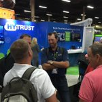 Lots of action at the HyTrust Booth - come see us at Booth 734. Get party tickets, register to win trip around world https://t.co/2ZVI140dAv