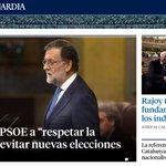 Per a Rajoy, respectar la democràcia és votar-lo a ell i q 2 milions de catalans votem independència no té fonament https://t.co/lDt6AhCQdw
