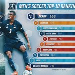 A new No. 1! Akron takes over on top of the @NSCAA Mens Top 25: https://t.co/zowGSVBtMW https://t.co/GPt4o8gV43