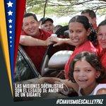 Chávez nos dio el poder para estar en la calle y proteger la paz del pueblo #ChavismoEsCalleYPaz .@NicolasMaduro https://t.co/stmxpqMBrX