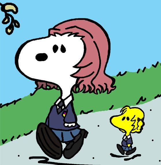 「//////////////////?」 (そんなこと気にしなくても大丈夫ですわ) (一人で歩くときと二人で歩くときの最高速度は違う) (それだけの話でございますから) https://t.co/HcTpwlKVcG