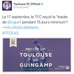 [#L1🇫🇷] La réponse du @ToulouseFC 😂 https://t.co/28WYoJtftZ
