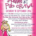 Sat 10th Sept fab fundraising night for @RNLI  in #Scarborough 3 legged pub crawl & @goldwingslp with @yorkshirerows https://t.co/Vf6Xjo2zXV