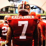 Maybe Kaepernick should just go play without a helmet. After all, there is an American flag on it. https://t.co/OfxtHRmN70