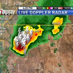 Heavy rain, lightning, & small hail just southeast of Co Springs and moving away from the city #cowx https://t.co/aIBjzRch0U