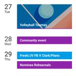 Lion Nation, here is a brief breakdown of Homecoming week! More details on events will follow https://t.co/QQHRs3mWPG