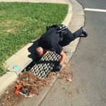 Officer Moran taking searching for evidence to the next level! #FFPD https://t.co/JuVg9eeD79 via @OfcrJohnD