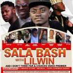 @gh_lil_wayne , @flowkingstone ,@gurunkz @amgmedikal, @zackgh_ & crew to thrill fans in Kumasi with Sala bash https://t.co/TRToPFRF2A