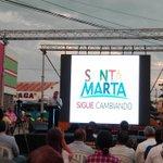 el alcalde @mrafael70 hablando de la importancia que tiene el @SETPSANTAMARTA para los samarios #ObrasParaElCambio https://t.co/hBAVCq5rmi