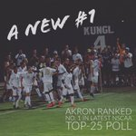 ICYMI: @ZipsMSoc is now ranked No. 1 in the latest @NSCAA Top 25 Poll. #GoZips #MACtion https://t.co/U3aw7xcvUC