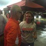 Debbie Wasserman Schultz arrives at watch party #wsvn https://t.co/KKBinKqjbM