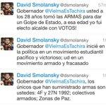Gob Vielma acusó a @dsmolansky de facilitar armas a tachirenses para marcha. El alcalde respondió https://t.co/BXa7ClH1dI