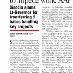 AAPInNews: Did HC ask Najeeb to impede work: AAP https://t.co/Cm6U8Nl7xL