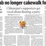 RT AAPInNewsPB: Punjab no longer cakewalk for AAP Conveners Sacking Gives Ammo to Oppn https://t.co/y0Lhj0TVBO