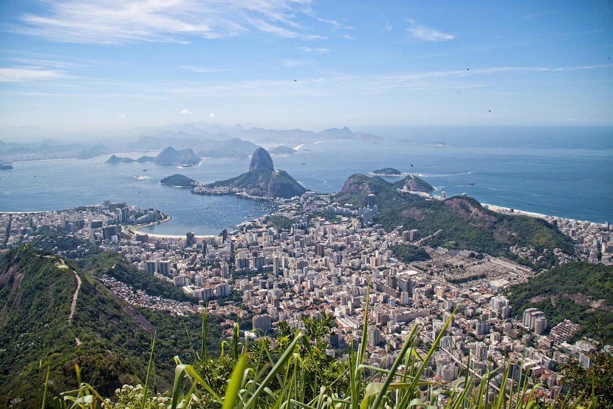 Views from #CristoRedentor. https://t.co/MCcw4bkDfM #Photography #Brazil #Landscape #C ...
